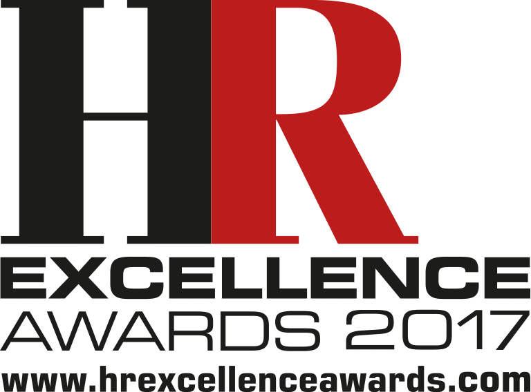 HR Excellence Awards logo black & red 2017