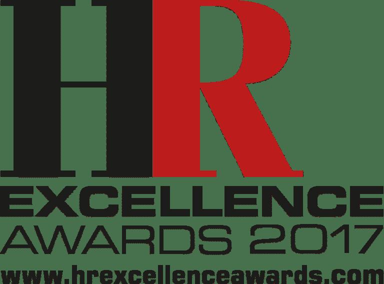 HR Excellence Awards logo black & red 2017