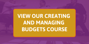 creating and managing budgets course