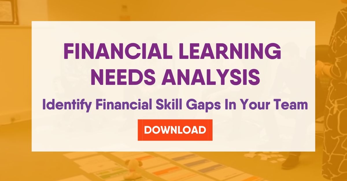 financial learning needs analysis